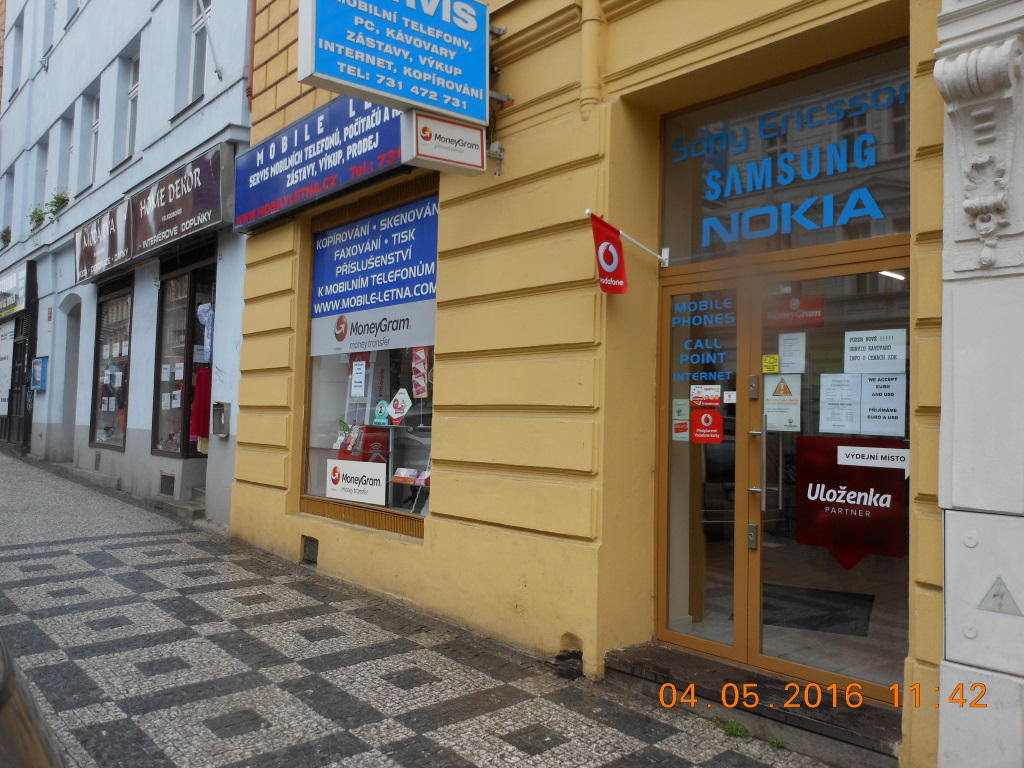 Pobočka Praha 7, Milady Horákové 815/42 (Mobily Letná)