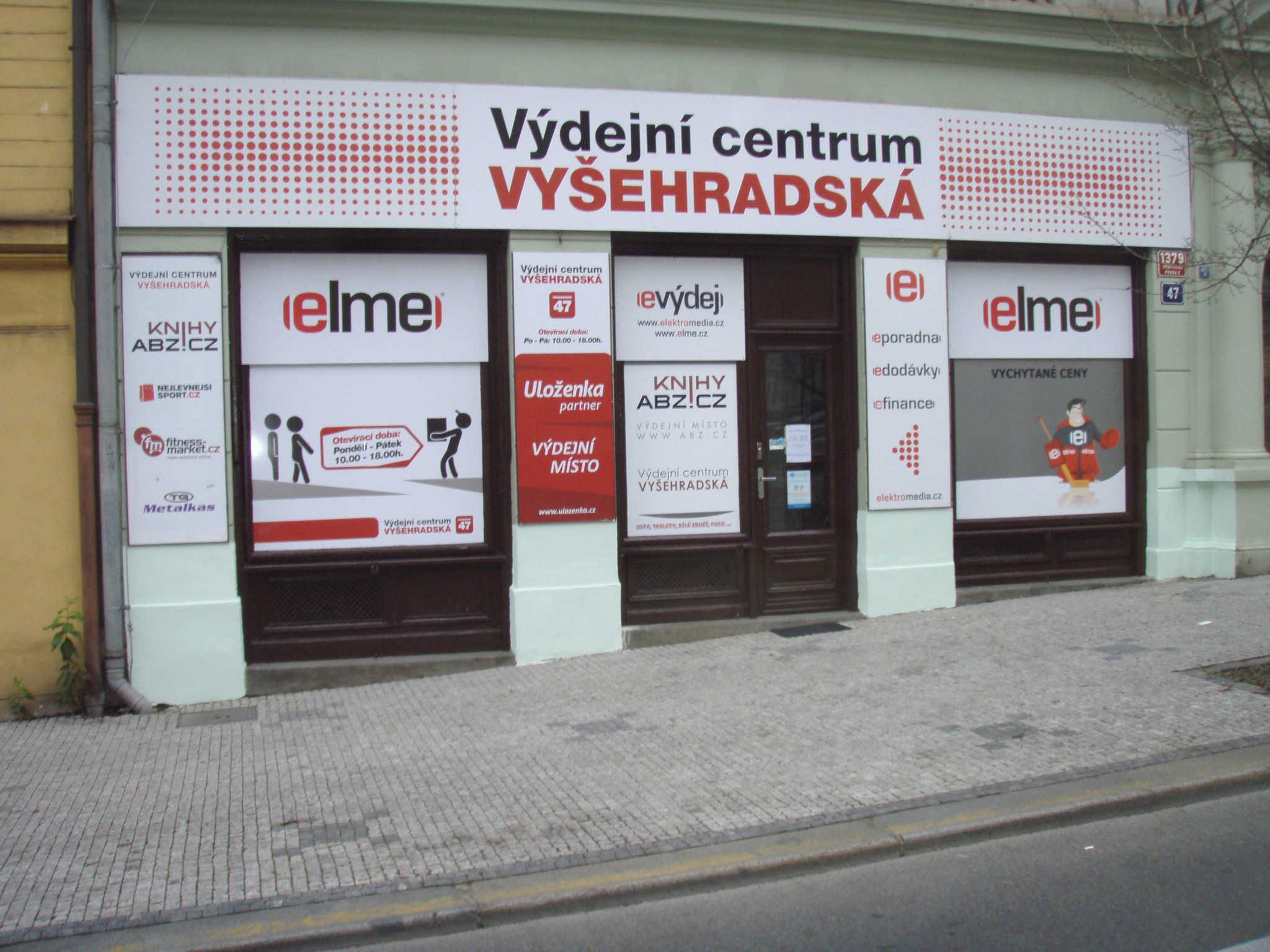 Pobočka Praha 2, Vyšehradská 47 (Výdejní centrum Vyšehradská)