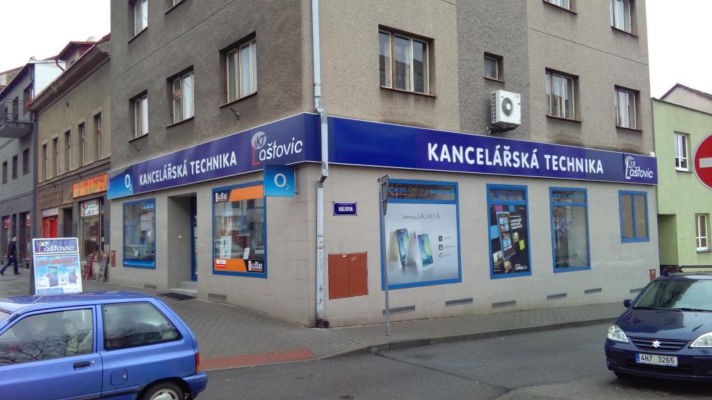 Náchod -  Komenského 366 (Mobilní telefony Laštovic)