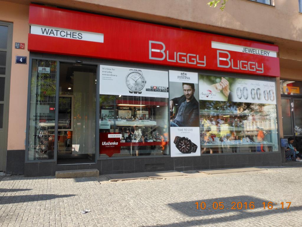 Pobočka Praha 5, Plzeňská 232/4, (Buggy-Buggy)