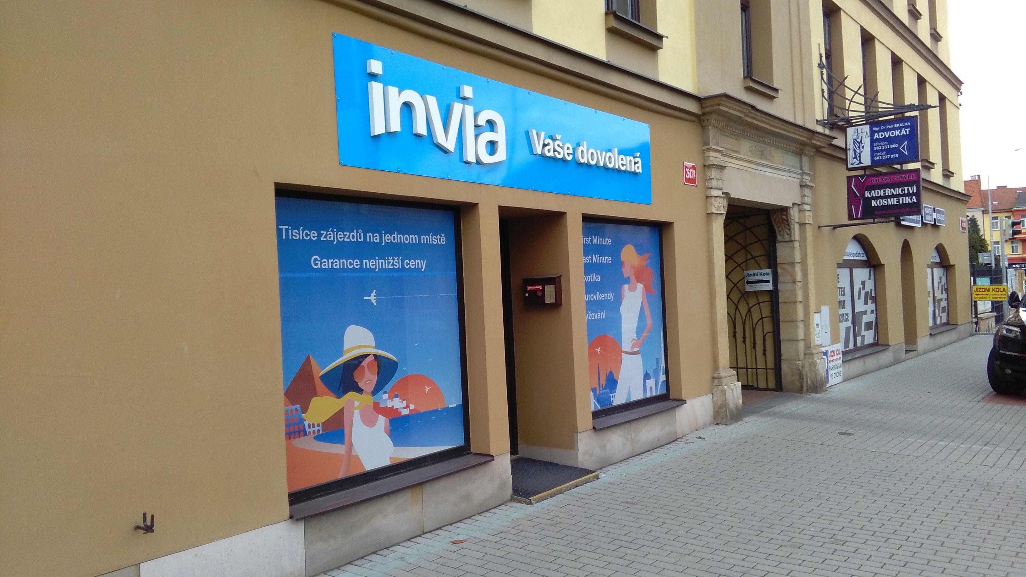 Pobočka Prostějov, Olomoucká 4, (Invia)