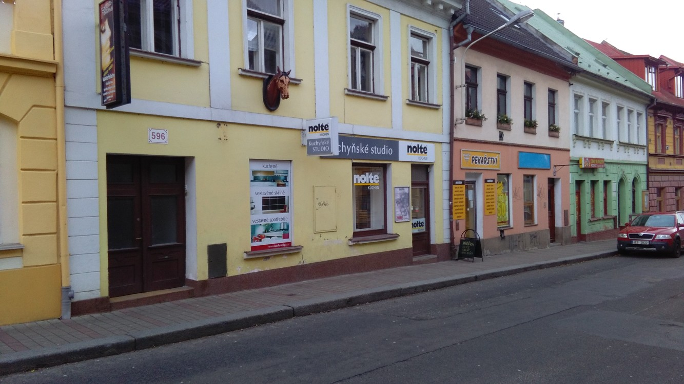 Pobočka Česká Lípa, Mariánská 596, (Kuchyňské studio nolte)