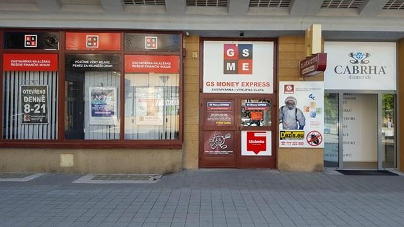 Pobočka Ostrava, Alšovo nám. 693/2, (GS Money Express)