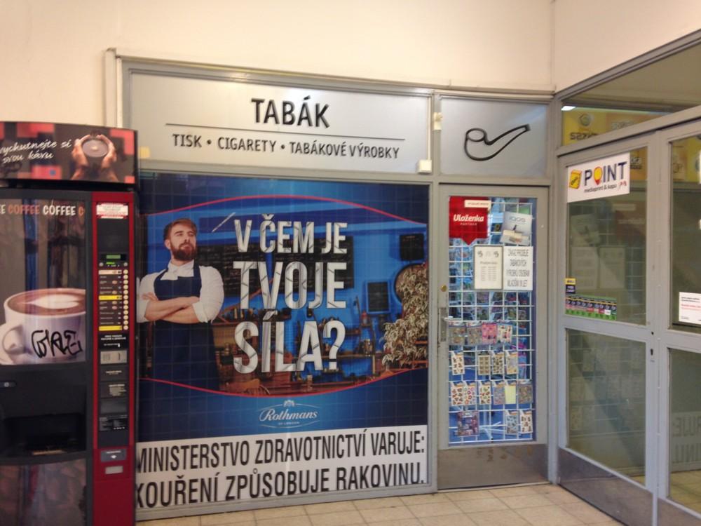 Praha 10 - Hostivař -  Plukovníka Mráze 1182/24  (Trafika)