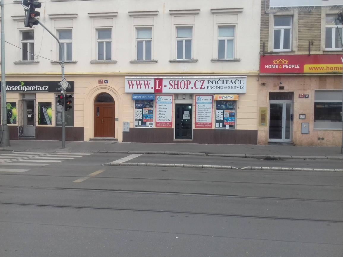 Pobočka Praha 5, Nádražní 48/92 (L-SHOP)