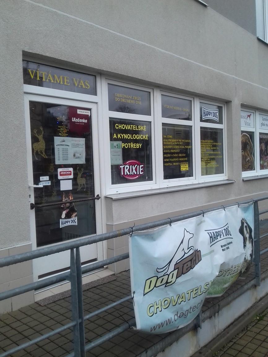 Pobočka Praha 9 - Kbely, Martinická 3 (Chovatelské potřeby DogTech)