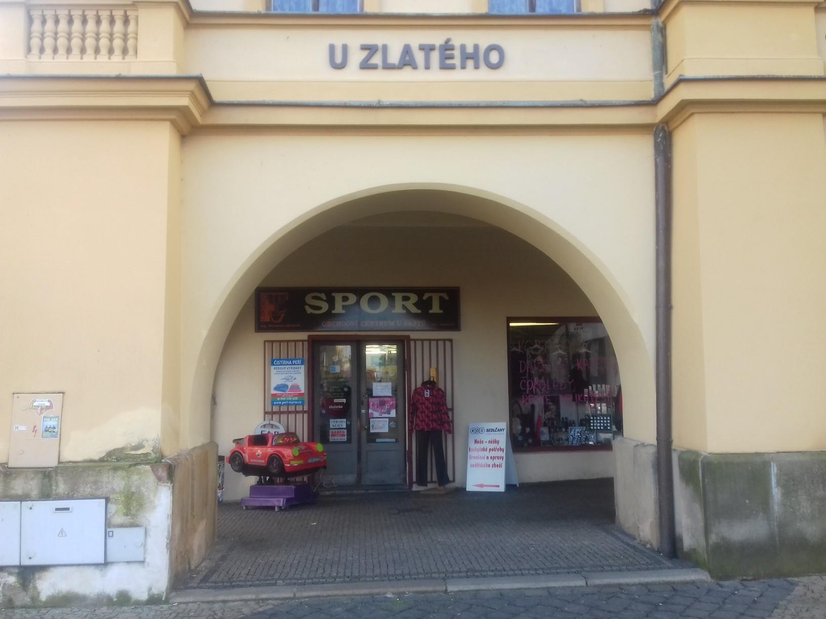 Pobočka Mělník, náměstí Míru 12 (Sport Váchová)