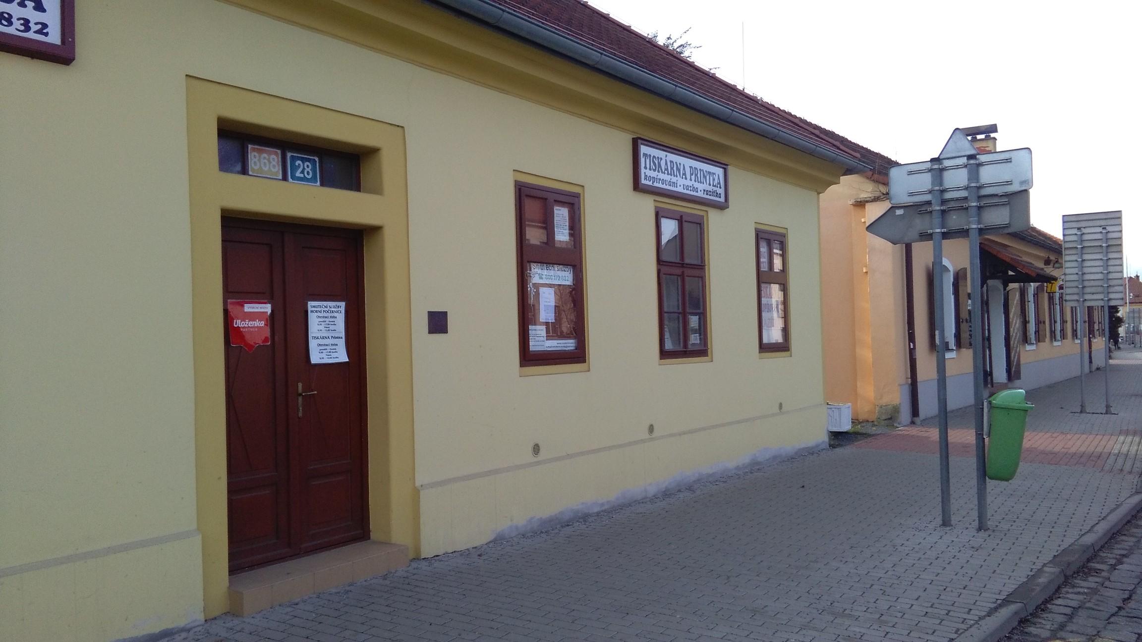 Pobočka Praha 9, Náchodská 868/28 (Tiskárna Printea)