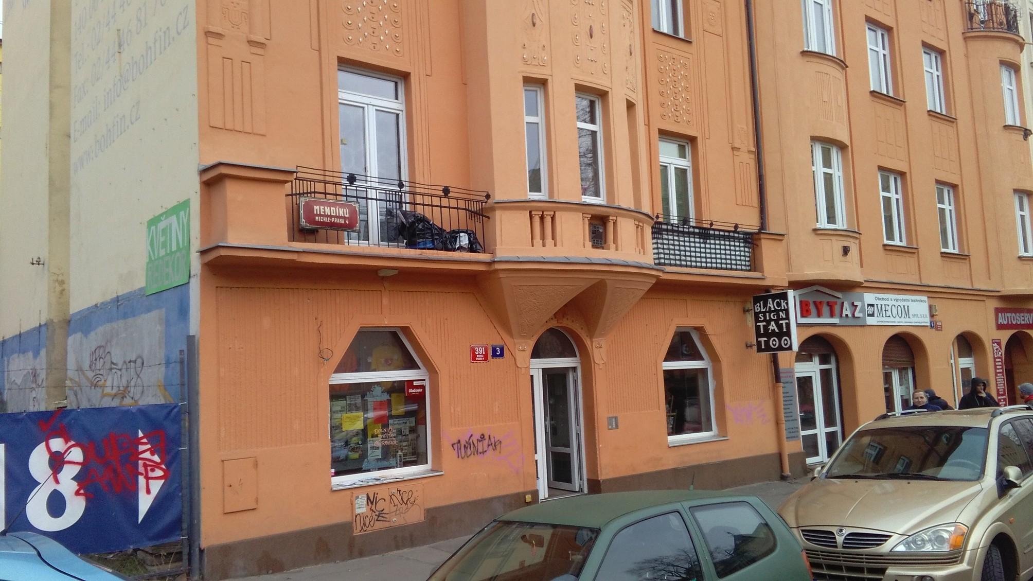 Pobočka Praha 4, Mendíků 391/3 (Cestovní agentura)