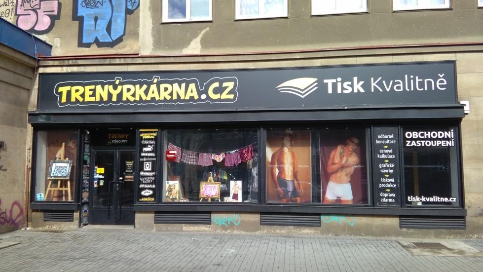 Praha 9 - Libeň -  Sokolovská 971/193 (Trenýrkárna)