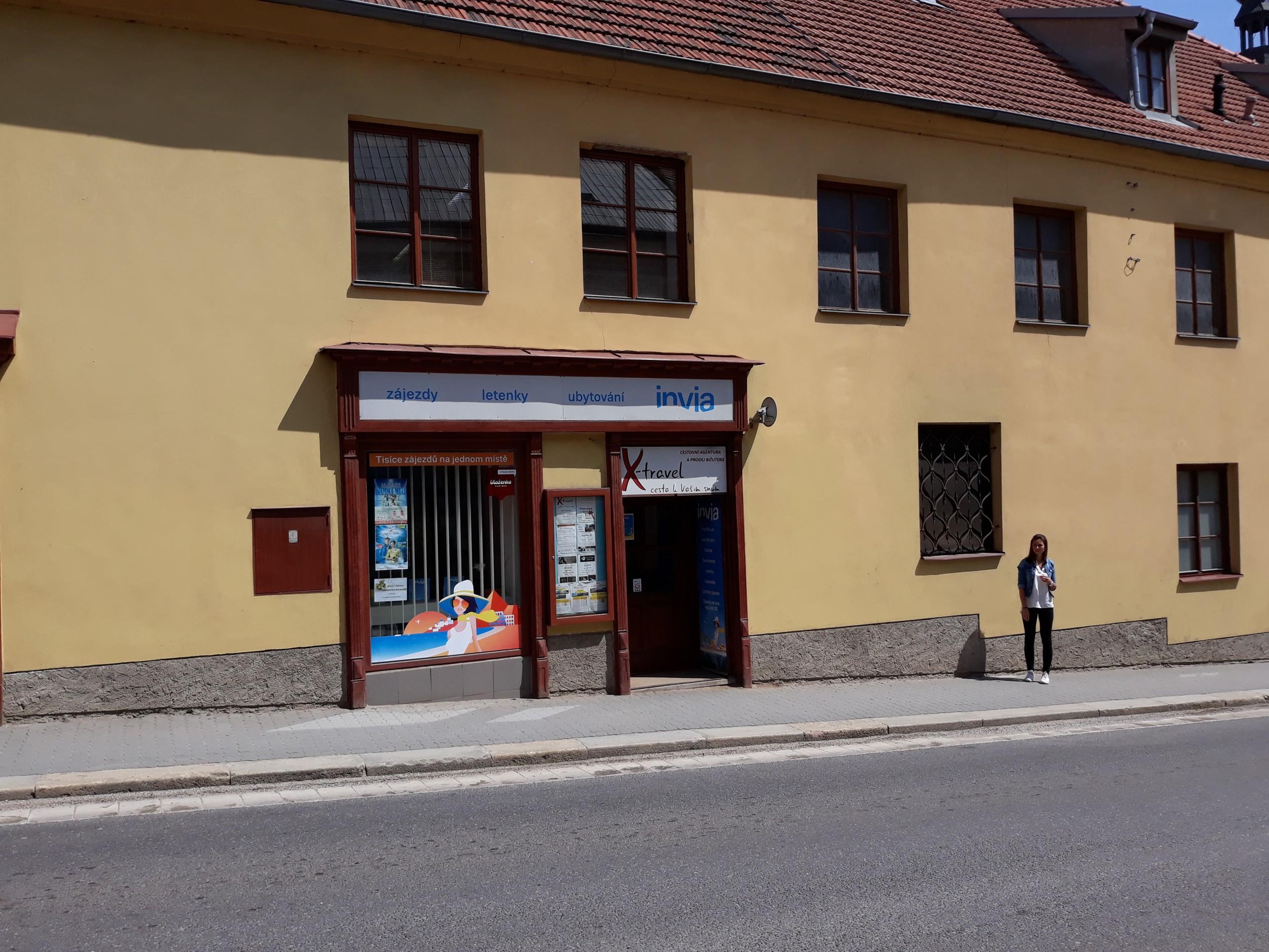 Pobočka Dačice, Göthova 149 (Invia)
