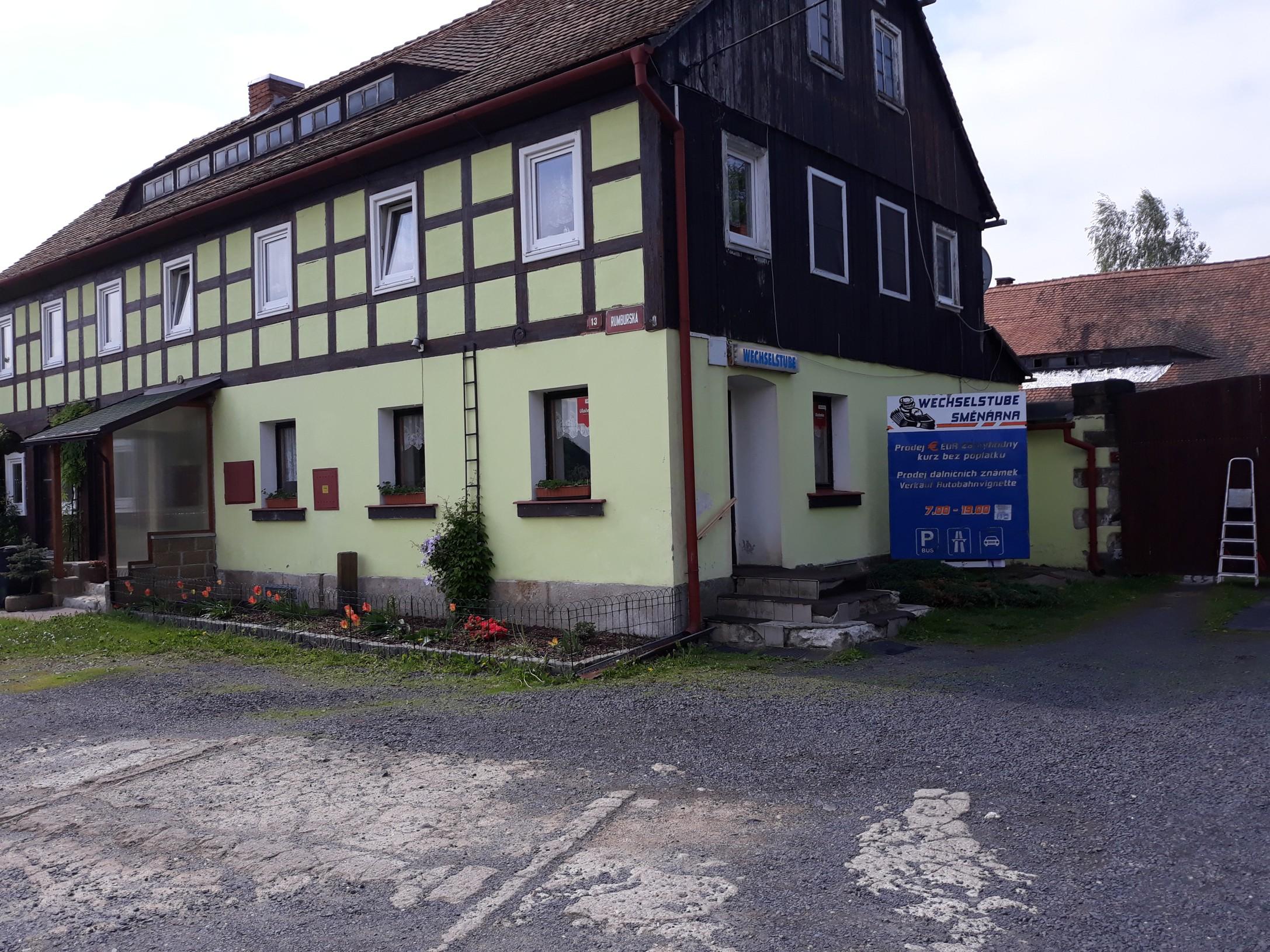 Pobočka Varnsdorf, Rumburská 13 (Směnárna)