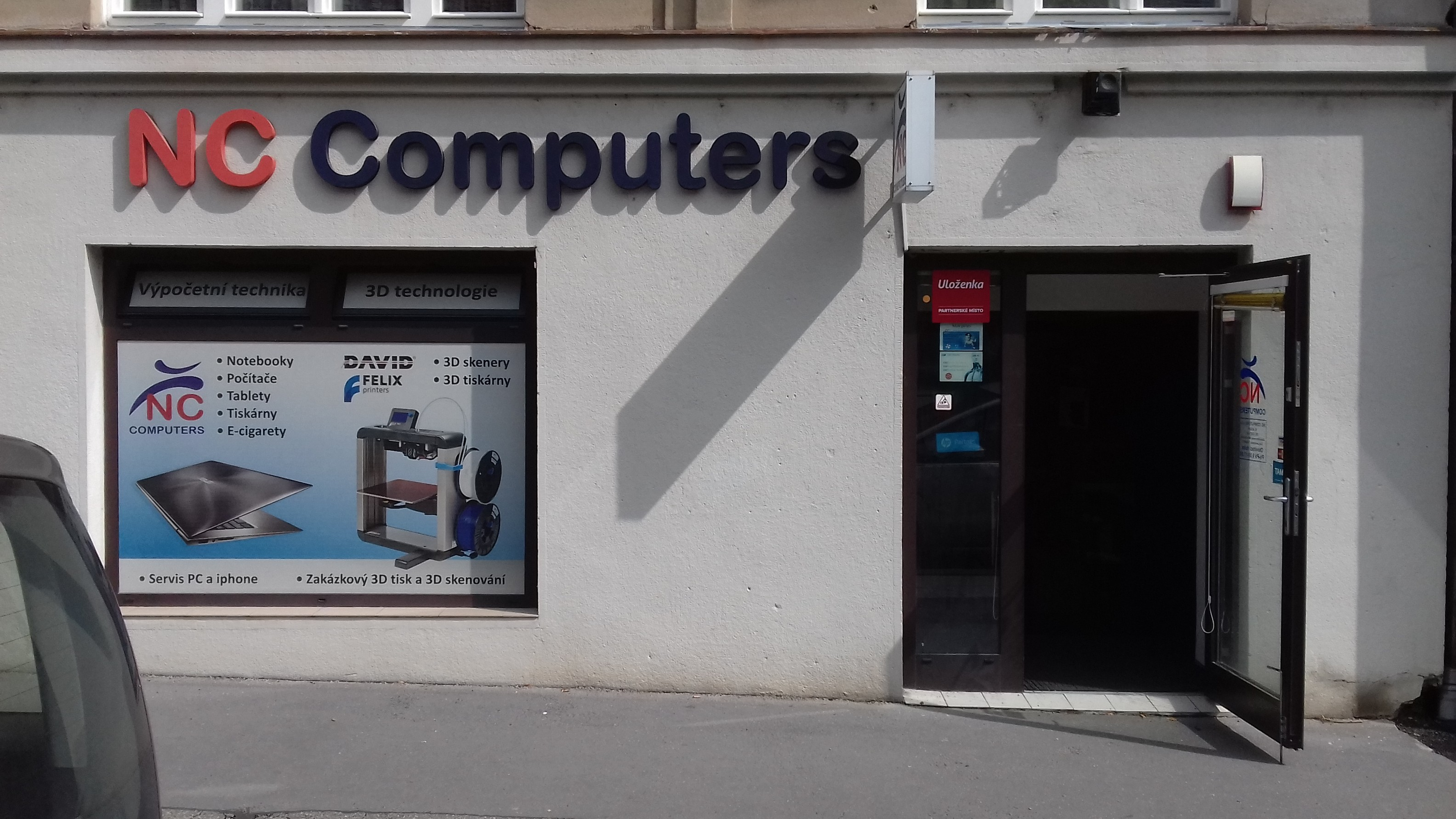Pobočka Praha 6, Nikoly Tesly 1095/10 (NC Computers)