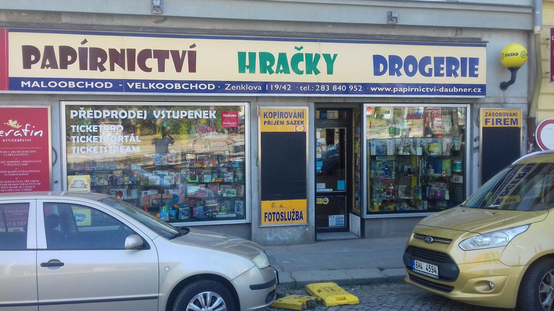 Pobočka Praha 8, Zenklova 119 (Papírnictví)