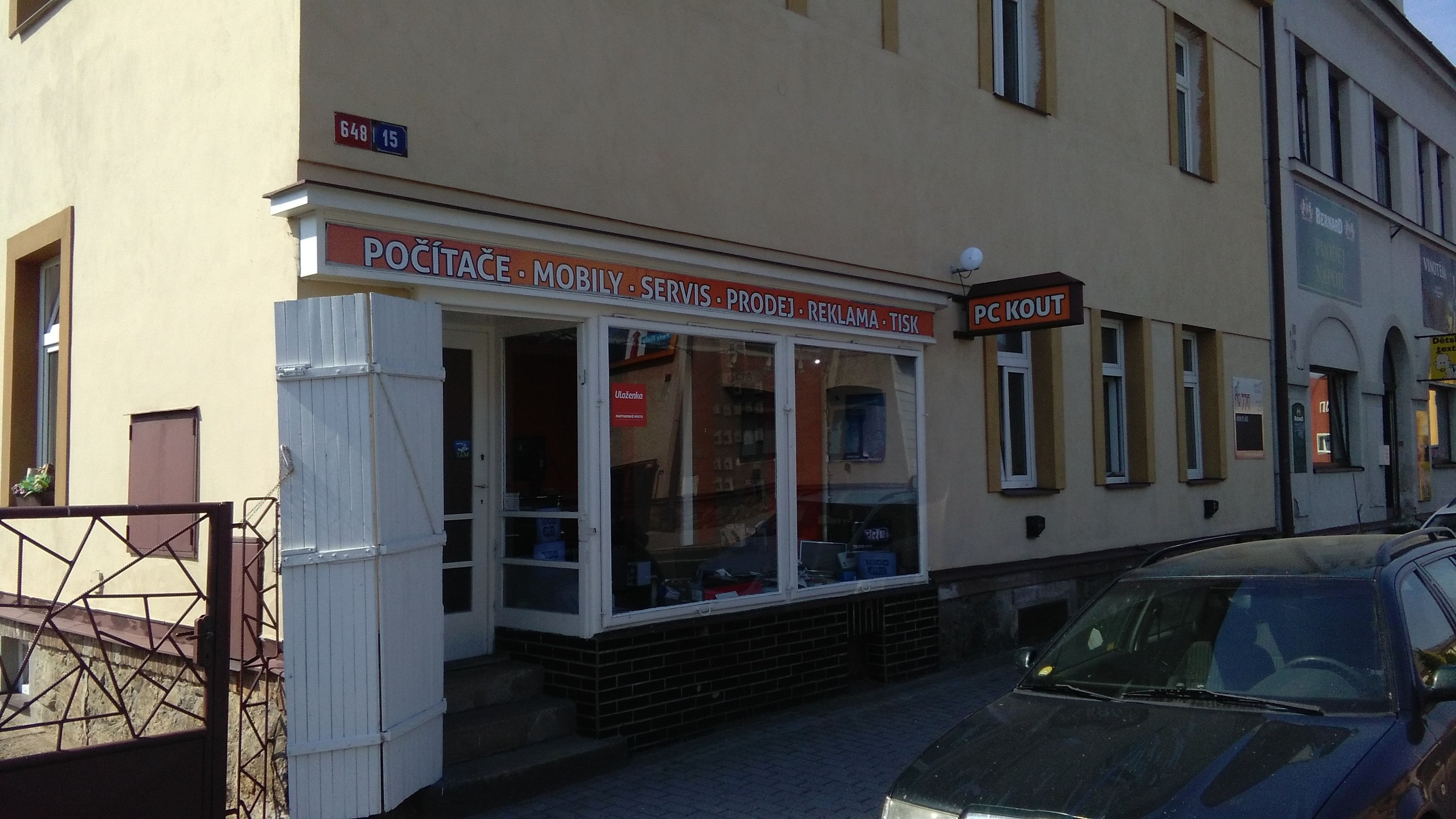 Pobočka Havlíčkův Brod, Humpolecká 648 (PC KOUT)