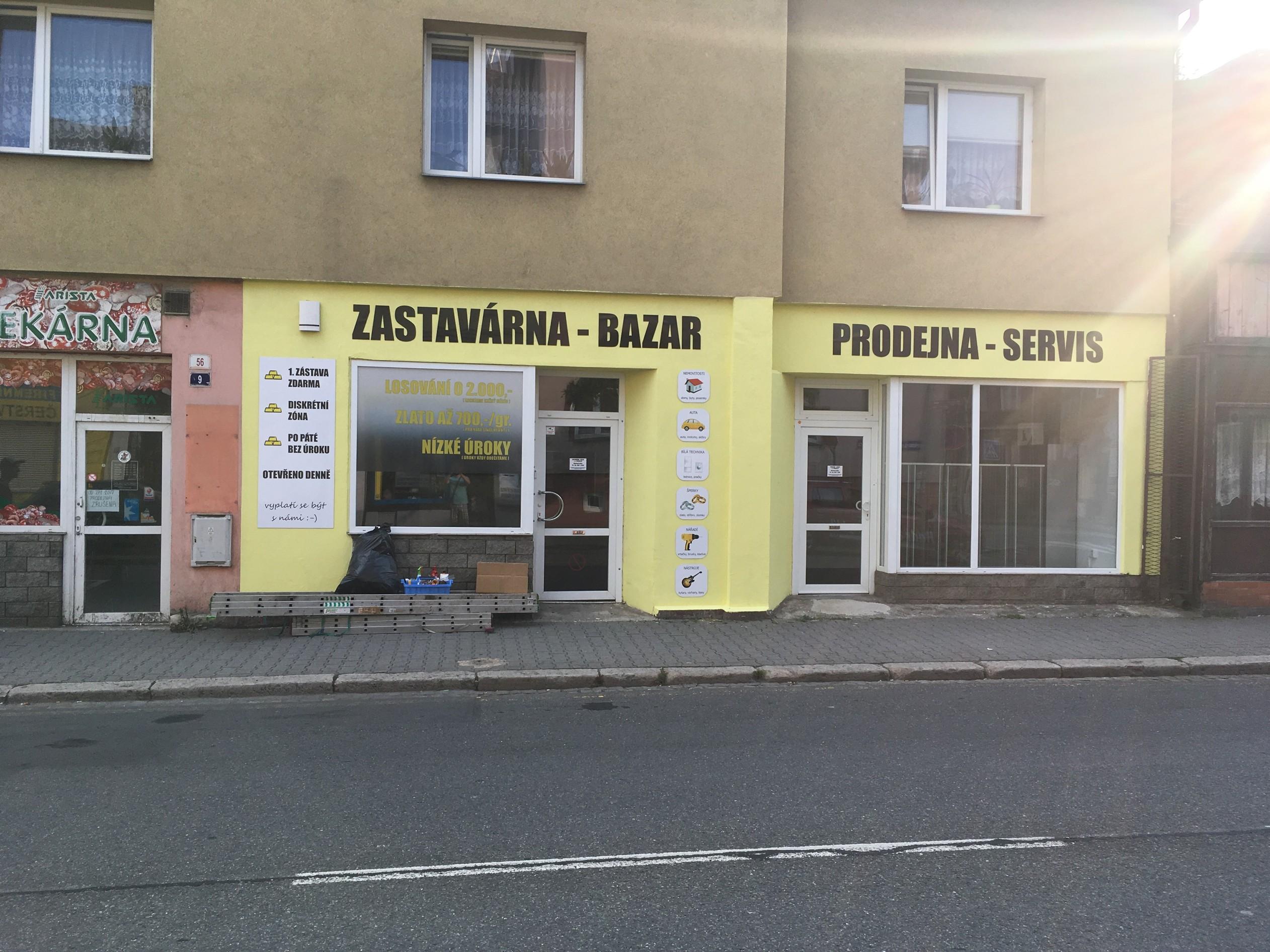 Pobočka Ostrava, Přemyslovců 56/9 (zastavárna Pikaso.cz)
