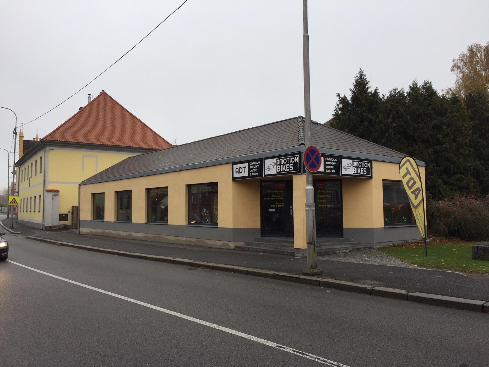 Pobočka Horažďovice, Komenského 213 (ADT Horažďovice)