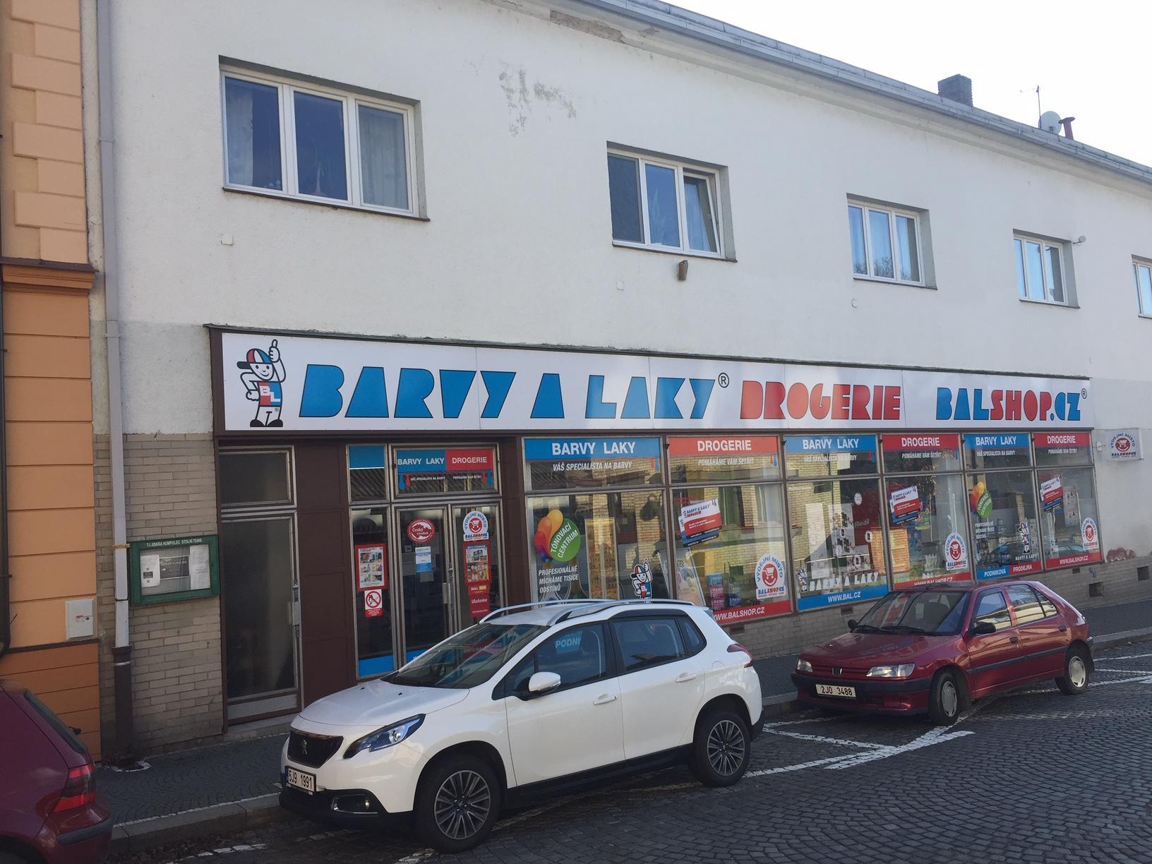 Pobočka Humpolec, Masarykova 568 (Barvy a Laky)