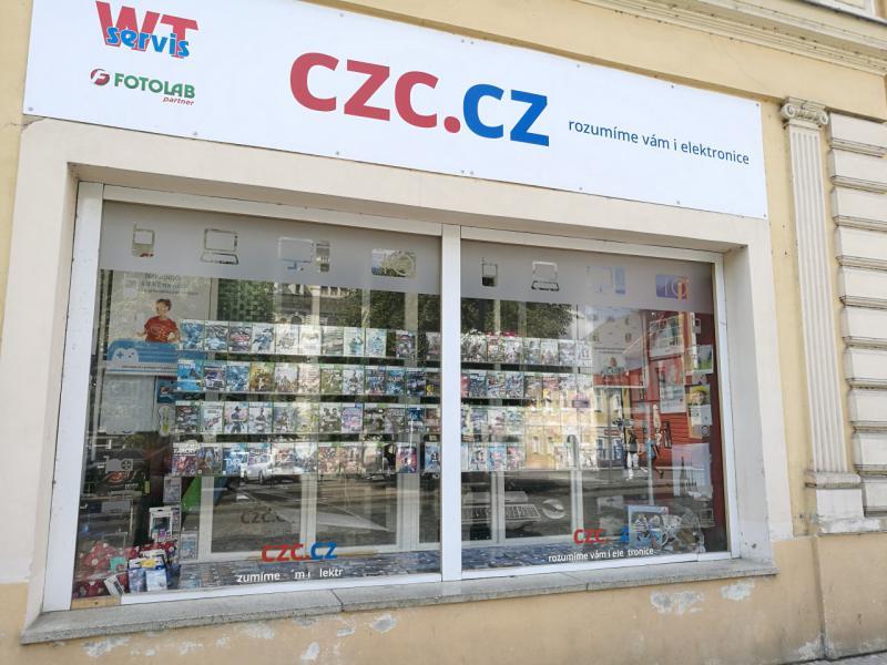 Pobočka Louny, Mírové náměstí 128 (WT-servis, CZC.cz)