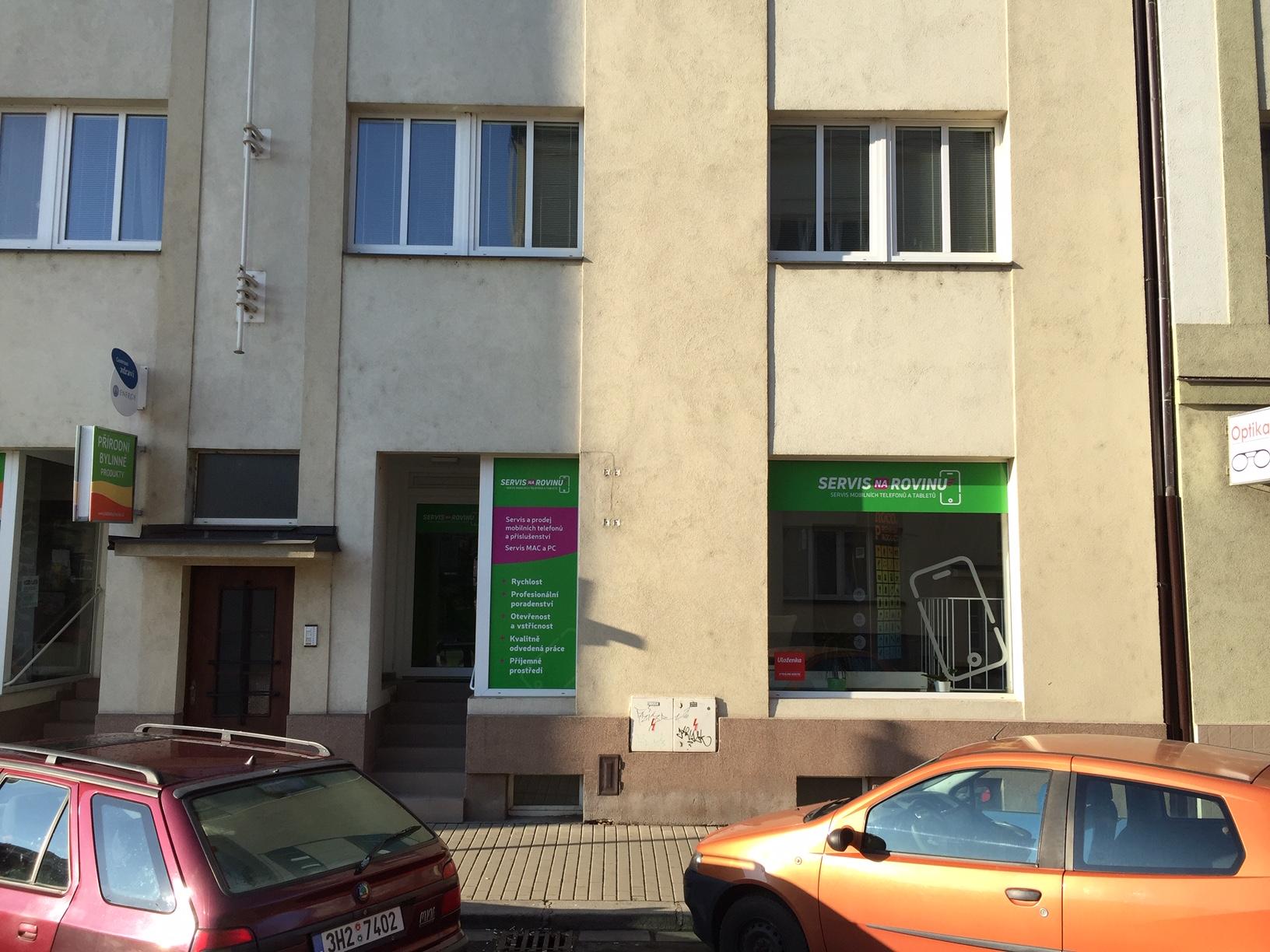 Pobočka Hradec Králové, Letců 1001 (ServisNaRovinu)
