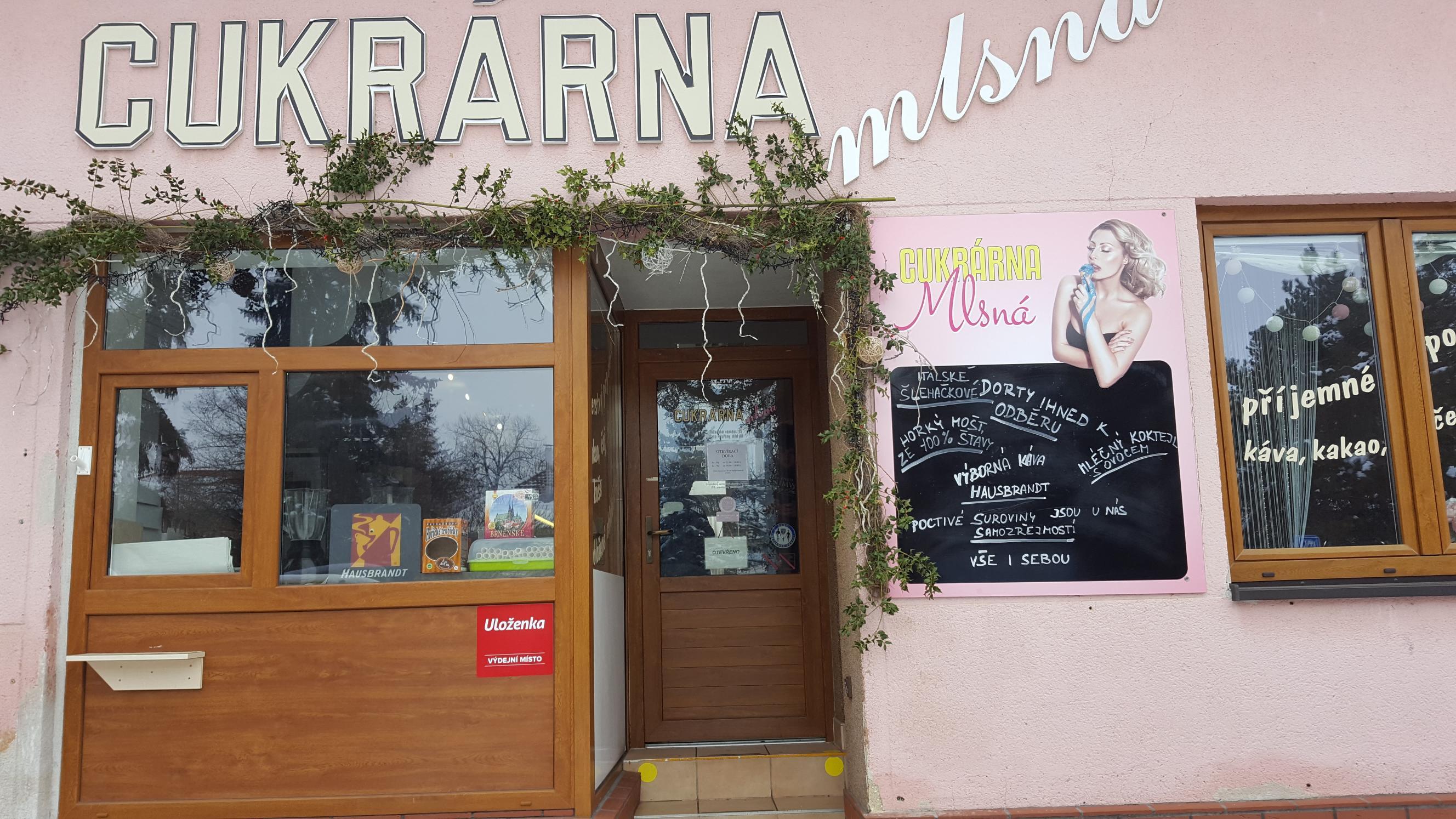 Pobočka Brno - Tuřany, Tuřanské náměstí 29 (Cukrárna Mlsná)