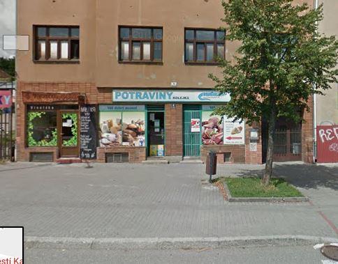 Pobočka Brno, Nám.Karla IV 9 (Potraviny František Kolejka)