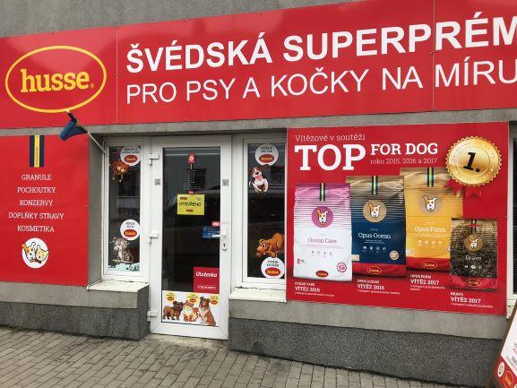Pobočka Říčany, Černokostelecká 27/50 (Švédská superprémiová krmiva HUSSE)