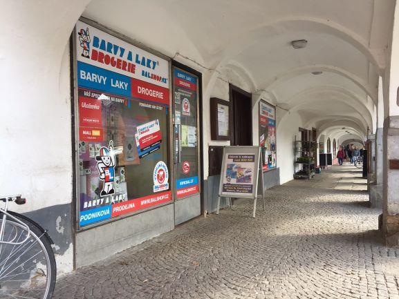 Pobočka Letohrad, Václavské náměstí 48, (Barvy a Laky)