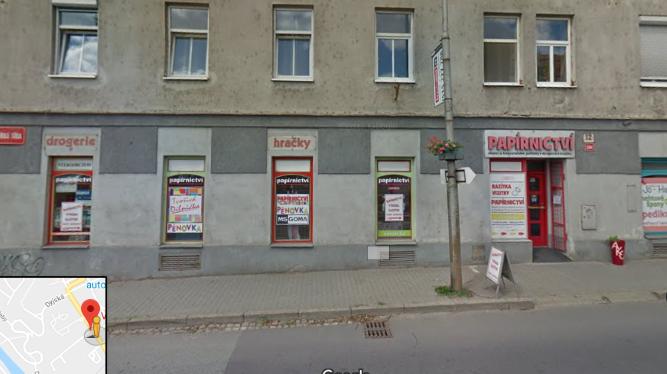 Pobočka Znojmo, Vídeňská třída 594/12 (Papírnictví)