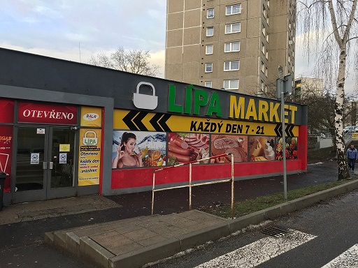 Pobočka Česká Lípa, Havířská 2014(Lipa Market)