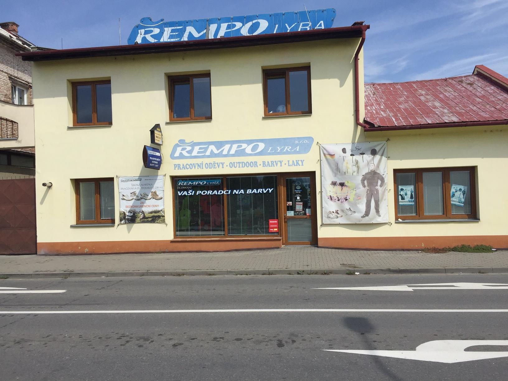 Pobočka Olomouc, Roháče z Dubé 1 (Řempo LYRA,s.r.o.)