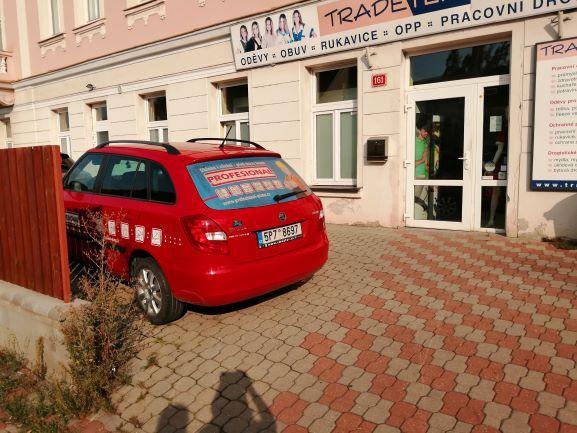 Pobočka Praha 10 – Hostivař, Hostivařská 161/21, (TRADETEX – pracovní oděvy)