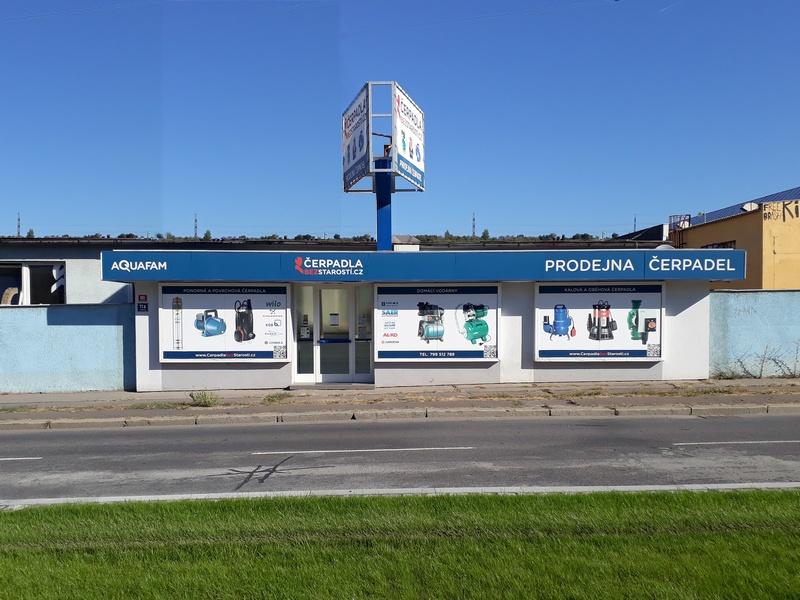 Pobočka Praha 9, Kolbenova 985/11a (ČerpadlaBezStarostí.cz)