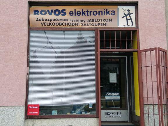 Pobočka Plzeň, Slovanská 179 (ROVOS elektronika)