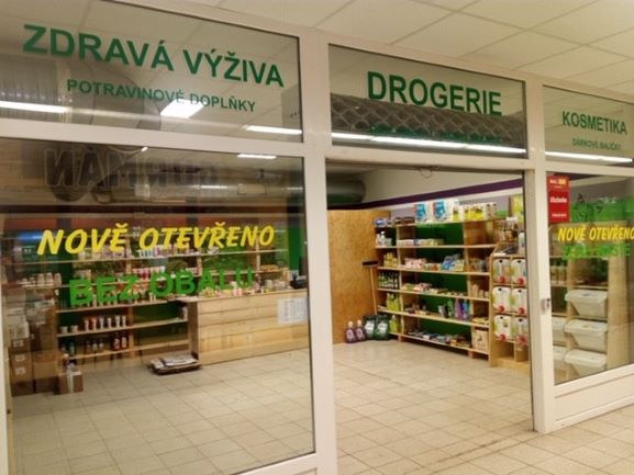 Pobočka Liberec 14, Vrchlického 830 (Drogerie, zdravá výživa)