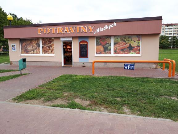 Pobočka Veselí nad Moravou, Hutník 1505 (Potraviny u Hladkých)