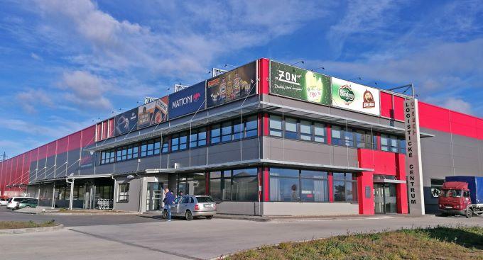 Pobočka Třebíč, Pocoucov 83 (Logistické centrum Třebíč)