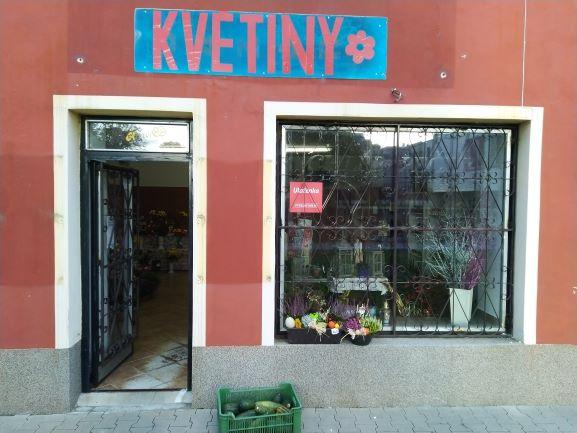Pobočka Podbořany, Masarykovo náměstí 32 (Květiny Eva Marečková)