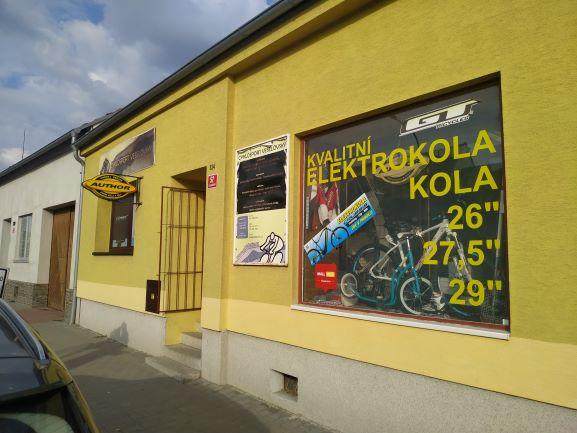 Pobočka Kuřim, Legionářská 324 (Cyklosport Veselovský)