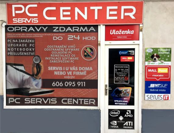 Pobočka Chomutov, Lipská 4884 (PC SEVIS CENTER)