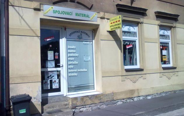 Pobočka Železný Brod, Štefánikova 376 (Garant-K, spojovací materiál - železářství)