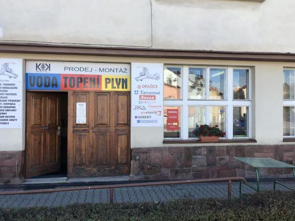 Pobočka Holice, Vysokomýtská 184 (Voda Topení Plyn)