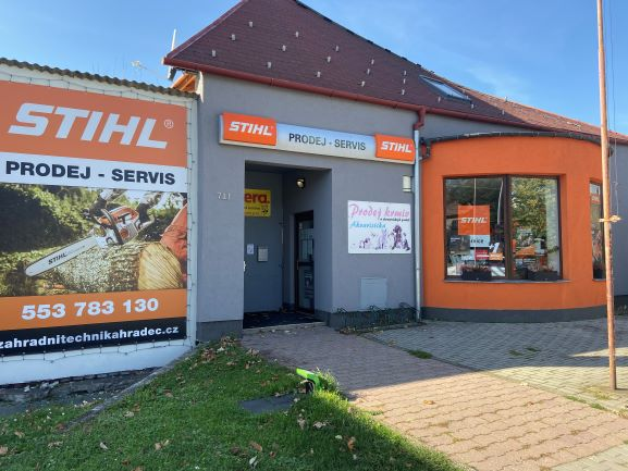 Pobočka Hradec nad Moravicí, Opavská 711 (Stihl – chovatelské potřeby)