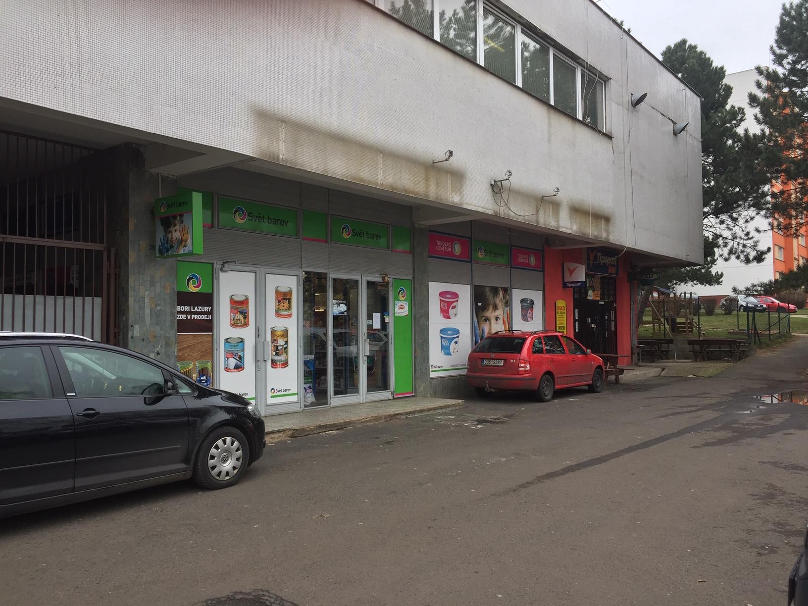 Pobočka Ústí nad Labem, Mírová 2861/6 (COLORLAK maloobchod s.r.o. – SVĚT BAREV)