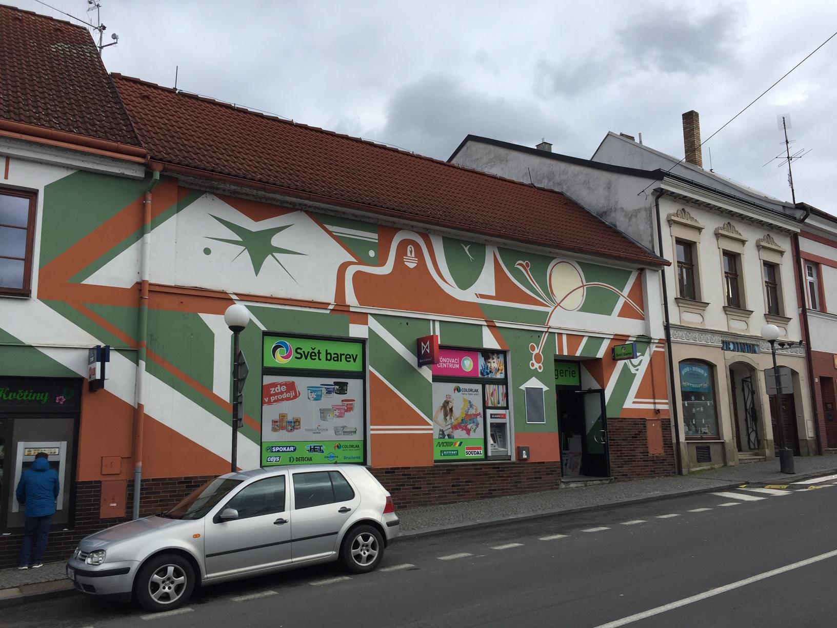 Pobočka Veselí nad Lužnicí, Nám. T. G. Masaryka 135 (COLORLAK maloobchod s.r.o. – SVĚT B