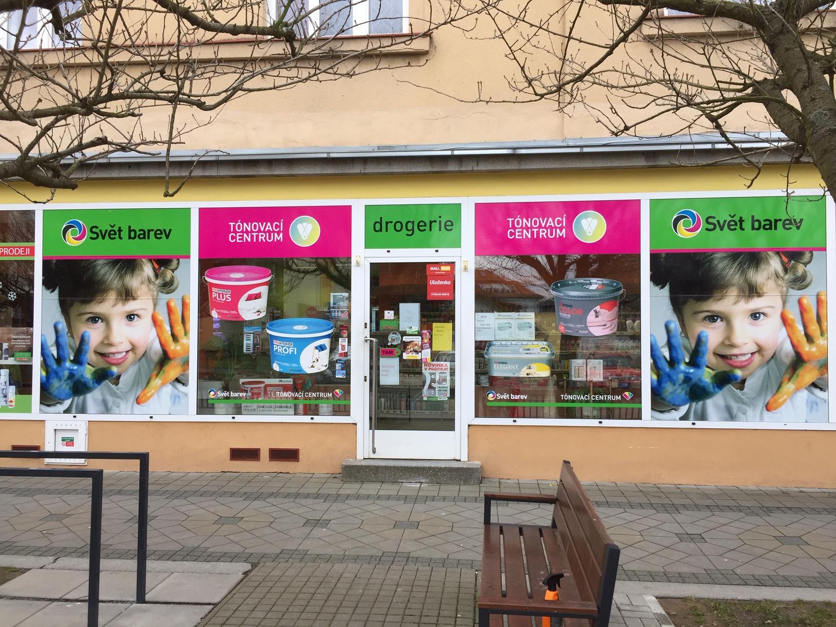 Pobočka Bechyně, Libušina 159 (COLORLAK maloobchod s.r.o. – SVĚT BAREV)
