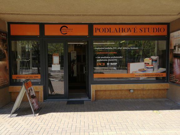 Pobočka Pardubice, Jindřišská 785 (Podlahové studio)
