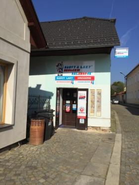 Pobočka Kamenice nad Lipou, Dobšova 85 (Barvy a Laky Drogerie)