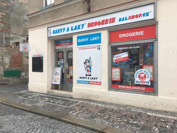Pobočka Bělá pod Bezdězem, Česká 130 (Barvy a Laky Drogerie)