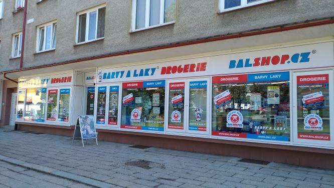 Pobočka Česká Třebová, Nové náměstí 1747 (Barvy a Laky Drogerie)